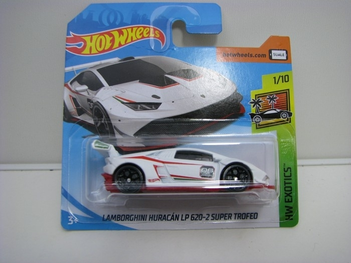 Lamborghini Huracán LP 620-2 Super Trofeo Hot Wheels Exotics-2018